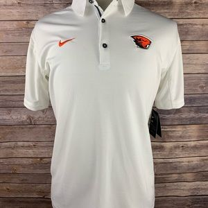 Nike Dri fit Oregon State beavers OSU Polo sz M